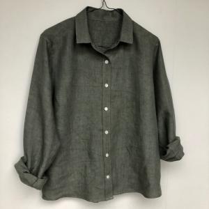 シャツ(3)とクッションカバー(リネプロNo25)