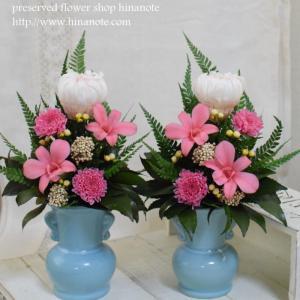 ■ プリザーブドフラワー 仏花