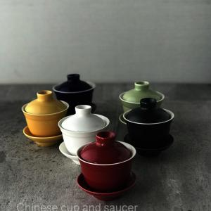 台湾土産の蓋碗