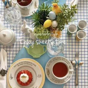 Tea time with strawberry tarte