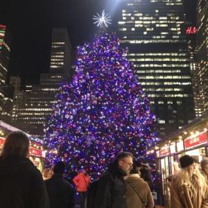 ニューヨーク冬の名所ブライアントパーク