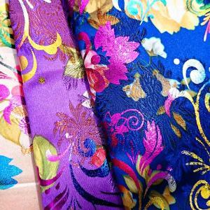 美しい織り生地~チャイナーブロケード