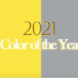 2021年の素敵な流行色のご紹介です