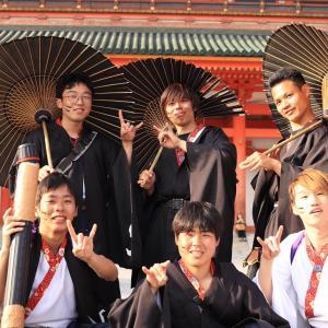 東海大学 YOSAKOIサークル 天夜鴉(あまやどり)様衣装~お披露目♪