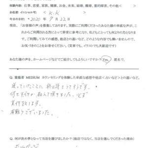 霊視カウンセリング「先祖に愛について不運があり…」東京都<女性>