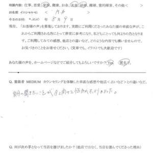 霊視カウンセリング「事故物件…」茨城県<女性>