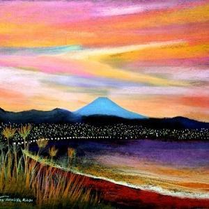 黄昏の横須賀