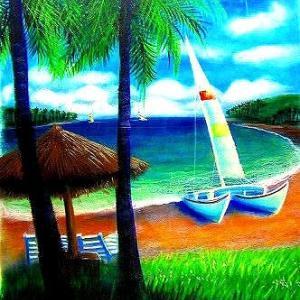 ハワイは何時も素敵な天気・・