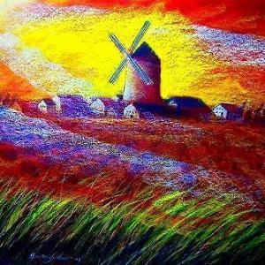 スペインアンダルシア風車
