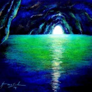 【青の洞窟】幻想の蒼