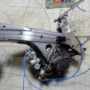 1/12 HONDA NSR500'89 Rothmans (ハセガワ) 製作#011