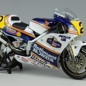 1/12 HONDA NSR500'89 Rothmans (ハセガワ) 完成