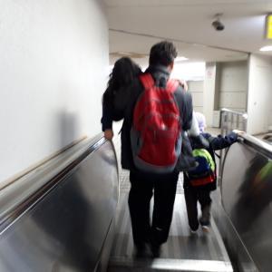 高松駅につきました
