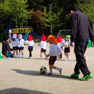 サッカー体験(๑•᎑•๑)