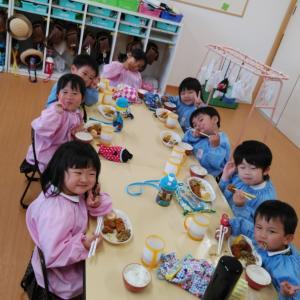 楽しい給食の時間(*´ω`*)