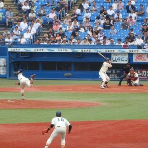 法政 vs 早稲田 @神宮【東京六大学】