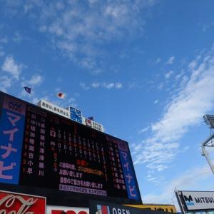 早稲田 vs 明治 @神宮【東京六大学】