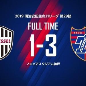 神戸 vs FC東京【J1リーグ】
