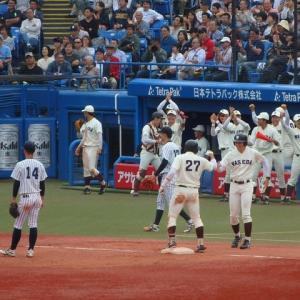 早稲田 vs 立教 @神宮【東京六大学】