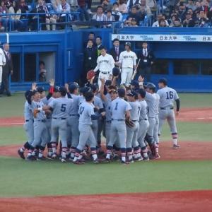 慶應 vs 早稲田 @神宮【東京六大学・早慶戦】
