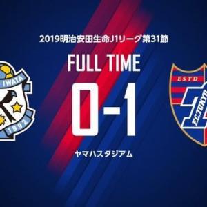 磐田 vs FC東京【J1リーグ】