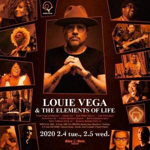 Louie Vega & The Elements of Life @BLUE NOTE TOKYO