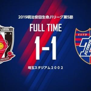 浦和 vs FC東京@埼スタ【J1リーグ】