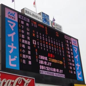 慶應 vs 早稲田 @神宮【東京六大学】