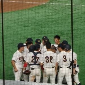 大阪商業大 vs 日本文理大 @東京ドーム【全日本大学野球選手権】