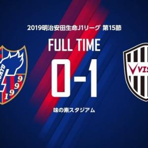 FC東京 vs 神戸 @味スタ【J1リーグ】