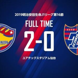 仙台 vs FC東京【J1リーグ】
