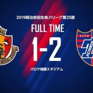 名古屋 vs FC東京【J1リーグ】