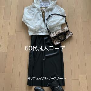 1枚のスカートでどうミニマムに着こなせるか?