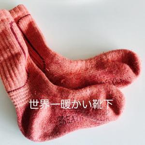 世界一暖かい靴下