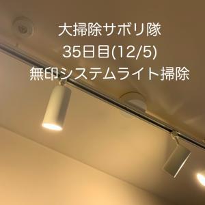 大掃除サボリ隊35日目〜順番は気にしない、ほこりがついてるシステムライト掃除する