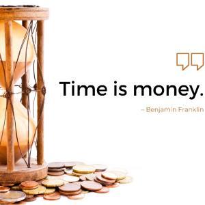 お金と時間は見直すべき理由