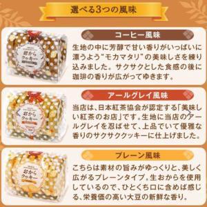 澤井珈琲おからクッキーコーヒー味とフランボワーズクッキー