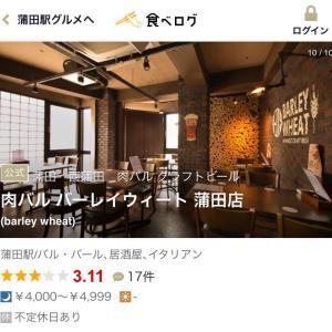ビール飲み比べ!肉バルバーレイウィート蒲田店