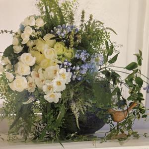 花時間ノカレンダー 8月のお花