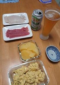昨日の晩御飯と今日の朝・昼ご飯♪