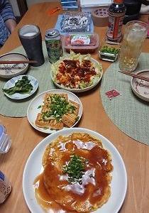 先週のお弁当と私ご飯 その壱
