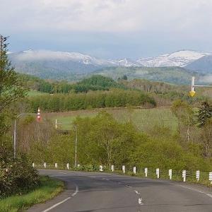 今日の記録(体重とごはん)・・・山にはまだ雪があるよ