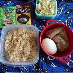 久しぶりの玄米食