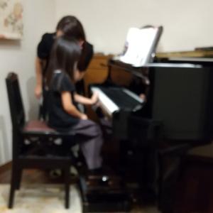 ぺぇ習い事第5弾  ピアノ
