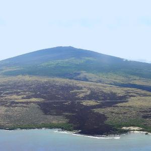 ☆★成田空港から約7時間で、ハワイ島コナ国際空港に着陸。オープンエアーの南国らしい長閑な空港でした。友人ご夫妻が手を振っています。★☆