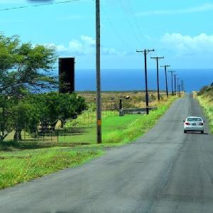 ☆★アメリカ最南端!ハワイ島の最南端,サウスポイント(カ・ラエ岬)。ハワイ語で「Ka Lae」とは「先端」という意味★☆