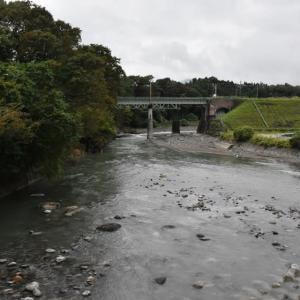 碓氷川・洪水後の風景
