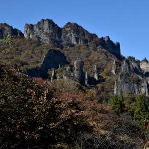 妙義石門群で自然観察会・・・