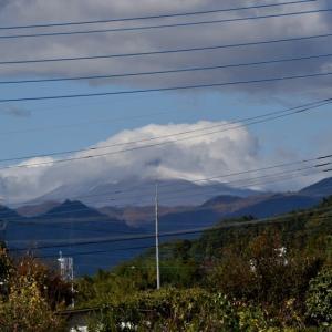 浅間山初冠雪、環境賞顕彰式、ダイヤモンド妙義・・・