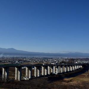 浅間山・・・